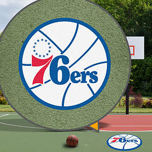 Philadelphia 76ers Street Grip Outdoor Graphic